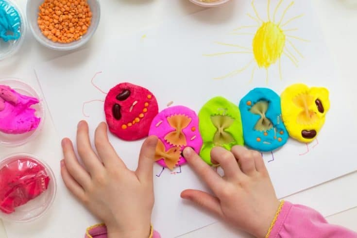 easy no-cook play dough recipe