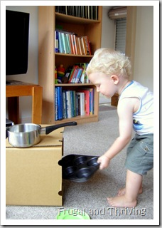 frugal child's kitchen