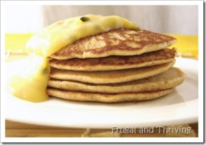 gluten free almond meal and buckwheat pikelets
