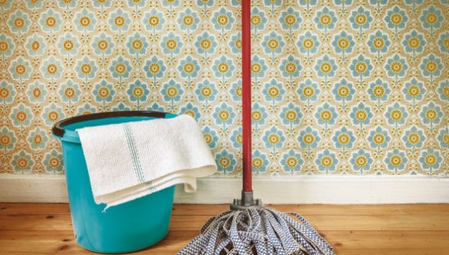 Freshen Up A Room With This Frugal Alternative To Painting The Walls