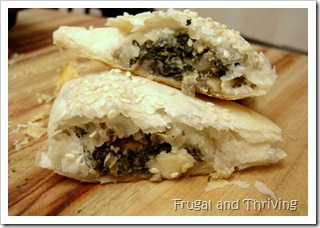 Spinach and Mushroom Pastries