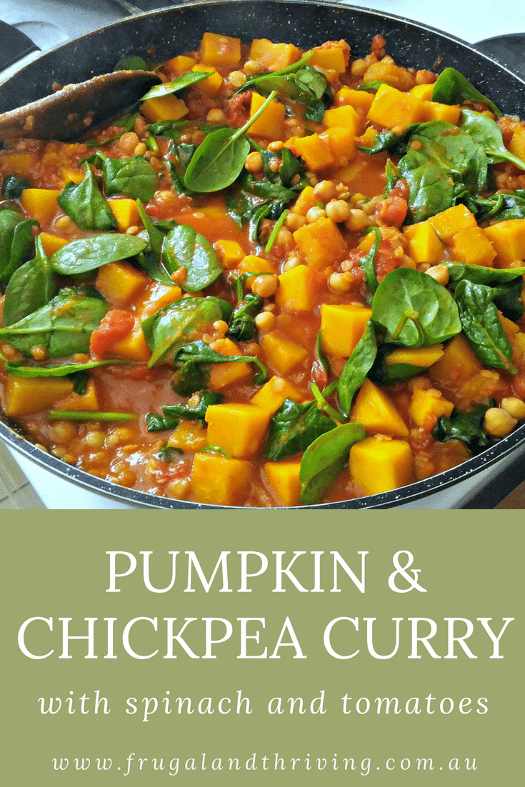 Pumpkin and Chickpea Curry Pin