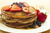 Healthy Wholemeal Pancakes