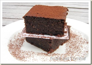 gluten-free brownies with a surprise ingredient