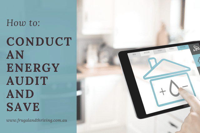 how to conduct an energy audit and save