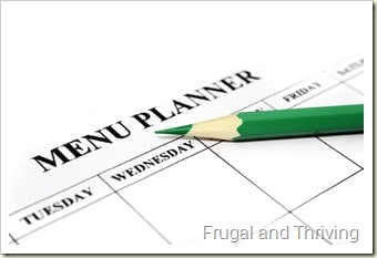 using a meal rotation to make menu planning easier