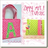 Art purse from New Green Mama | 45 Awesome Free Bag Tutorials | Frugal and Thriving