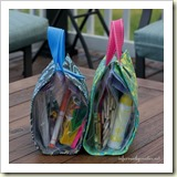 Busy Bag from Infarrantly Creative | Frugal Handmade Gift Ideas | Frugal and Thriving