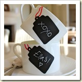 Chalkboard Mug from Primal Instincts | Frugal Handmade Gift Ideas | Frugal and Thriving