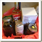 Coffee Lovers Basket from Cynthia Hule | Frugal Handmade Gifts | Frugal and Thriving