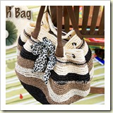 Crochet Straw Beach Bag Tutorial from Craft Passion | 45 Awesome Free Bag Tutorials | Frugal and Thriving