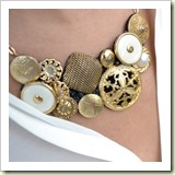 DIY Vintage Button Necklace from Born in '82 | Frugal Handmade Gift Ideas | Frugal and Thriving