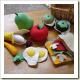 Felt Food | Frugal Handmade Gift Ideas | Frugal and Thriving