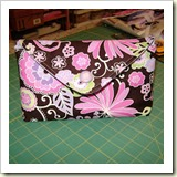 Envelope Make Up Bag from Up The Rainbow Creek | 45 Awesome Free Bag Tutorials | Frugal and Thriving