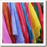 Play Silks from Rachael Rabbit | Frugal Handmade Gift Ideas | Frugal and Thriving