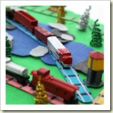 Portable-Train-Set from Play Trains | Frugal Handmade Gift Ideas | Frugal and Thriving