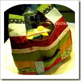 Scrappy Shopping Bag from Pezzedimondo | 45 Awesome Free Bag Tutorials | Frugal and Thriving