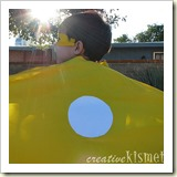 Superhero Cape from Creative Kismet | Frugal Handmade Gift Ideas | Frugal and Thriving
