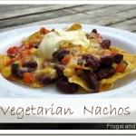 vegetarian nachos