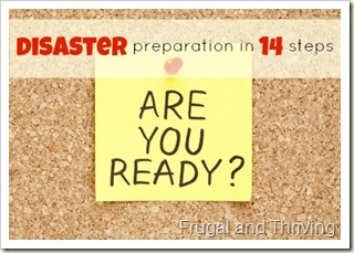 are you covered? updating your insurance {disaster prep step 1}
