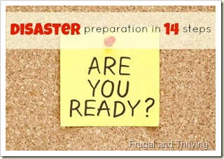 preparing an emergency plan {disaster preparation day 3}