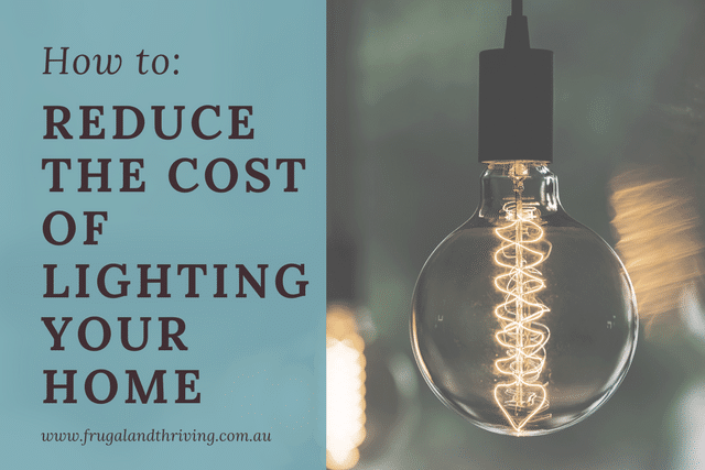 reduce the cost of lighting your home