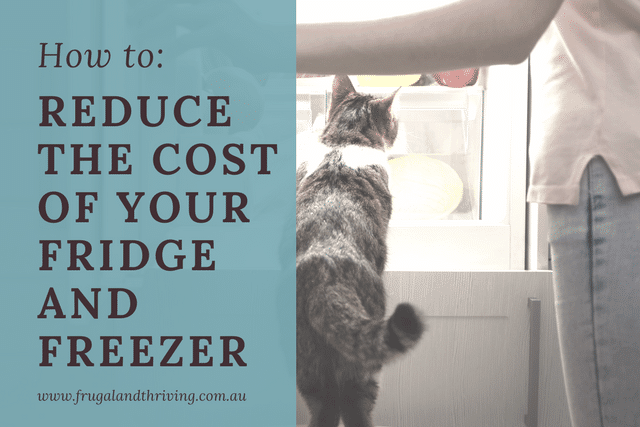 reduce the cost of refrigeration
