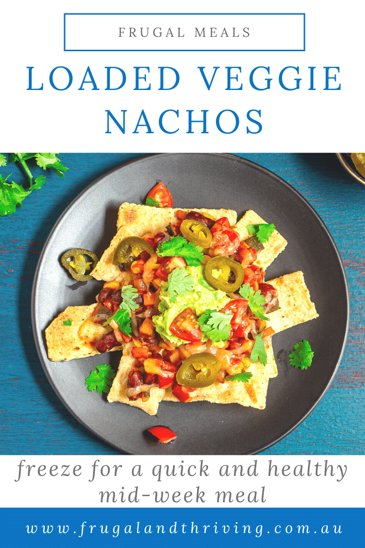 Easy Loaded Vegetarian Nachos Recipe – Freeze for Later