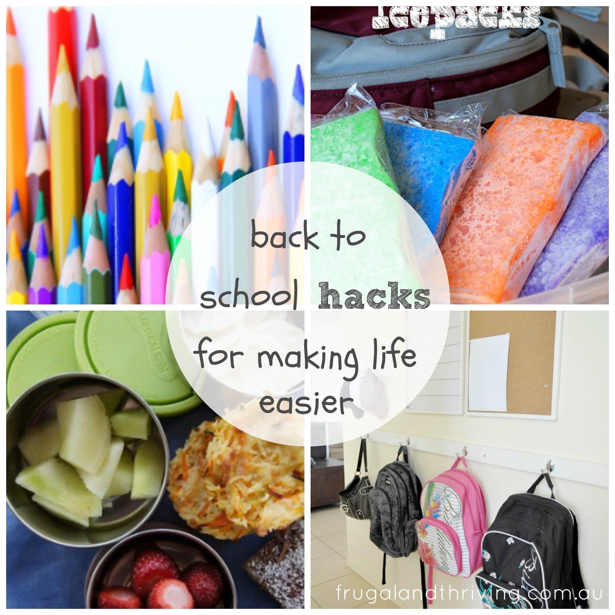 15 back to school hacks to make life easier