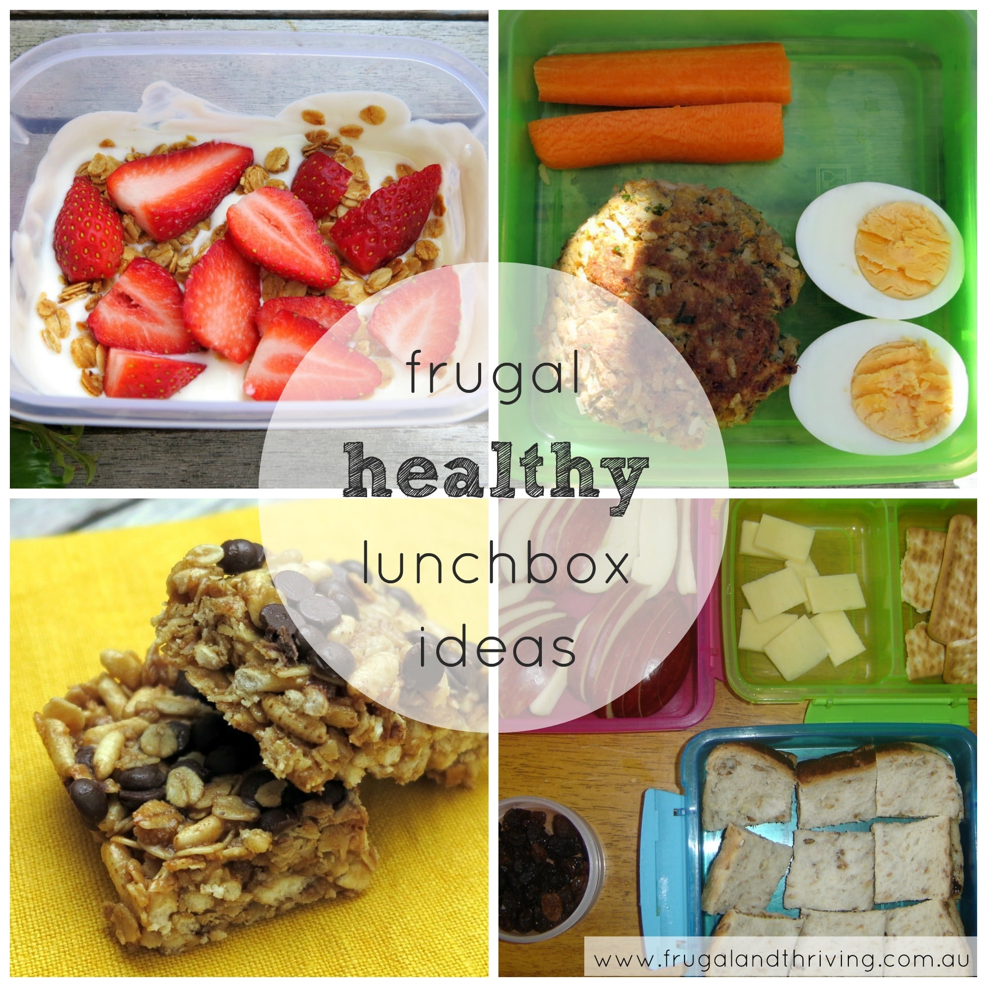 frugal and healthy lunchbox ideas