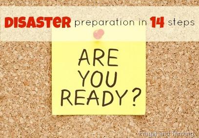 emergency cash {disaster prep day 12}