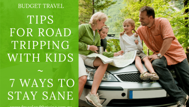 Road tripping with kids.