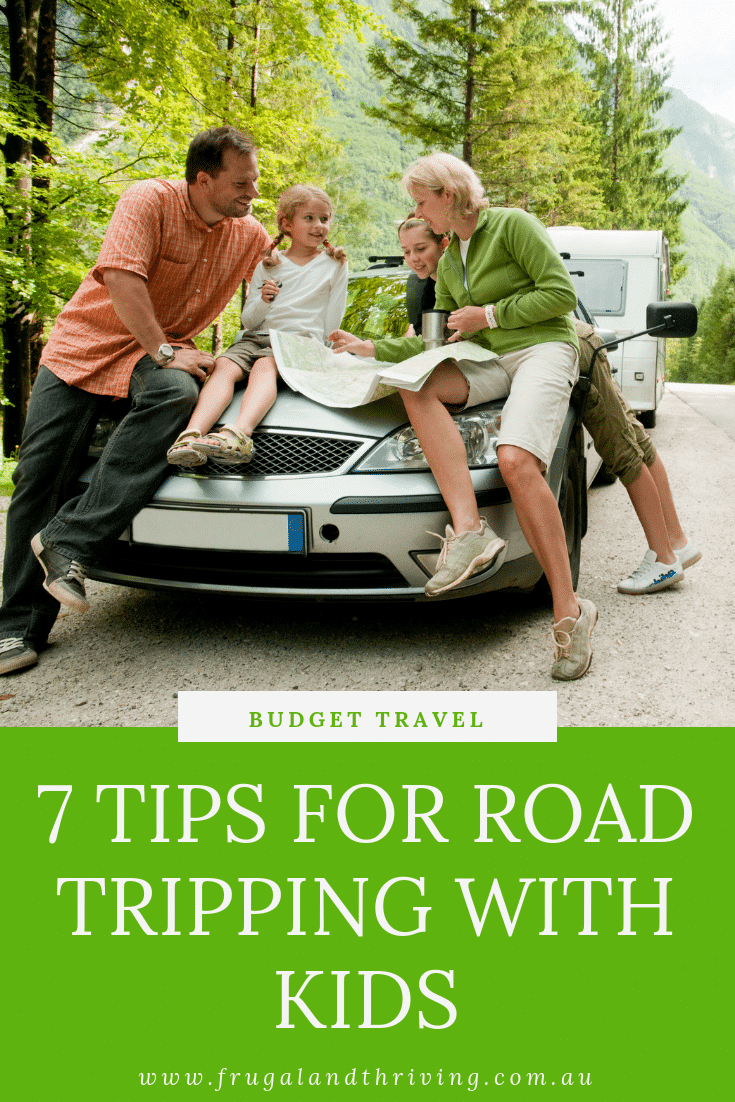 road tripping with kids tips for staying sane