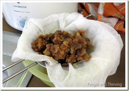 Rendering Lard in the Slow Cooker | Frugal and Thriving