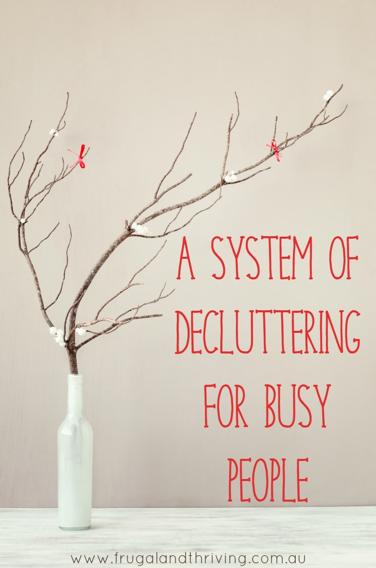 decluttering for busy people