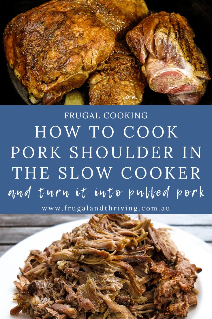 Slow Cooker Pork Shoulder for Melt-in-the-Mouth Pulled Pork