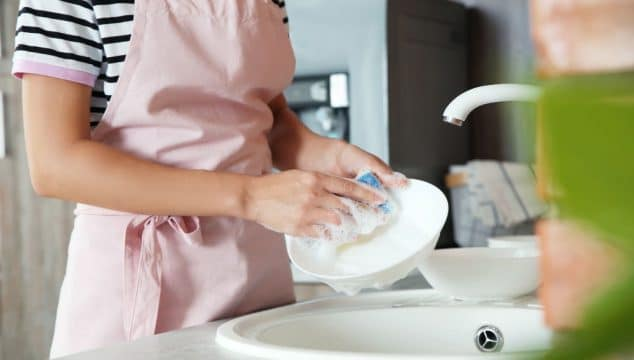 Wash dishes without wasting water