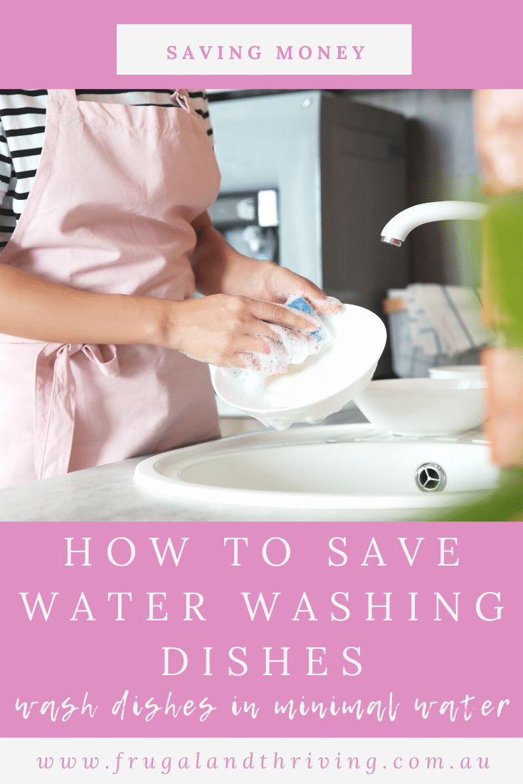 Hand washing dishes doesn\'t have to use more water than modern, efficient dishwashers. Here\'s how to hand wash dishes without wasting water.