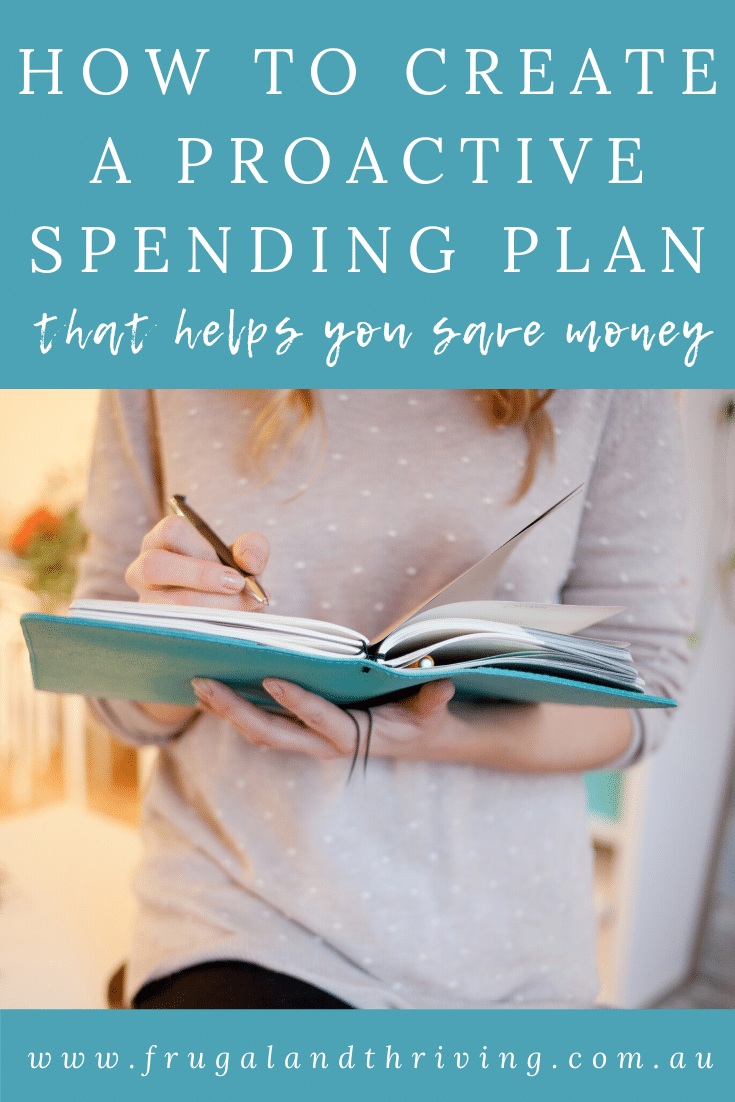 Budgets more often than not fail. A simple yet effective alternative to the traditional budget is a proactive spending plan that helps you save. Here\'s how to do it. #budgeting #frugalliving #savingmoney