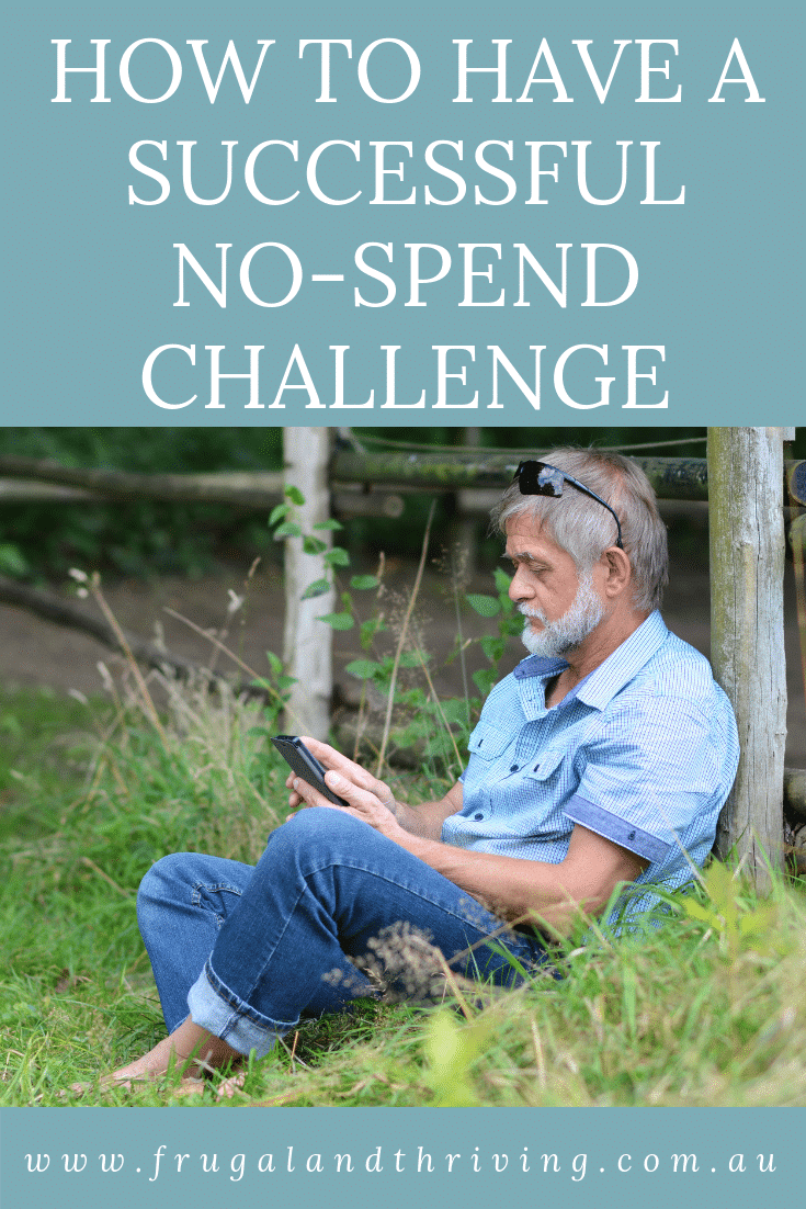How to have a successful no-spend challenge