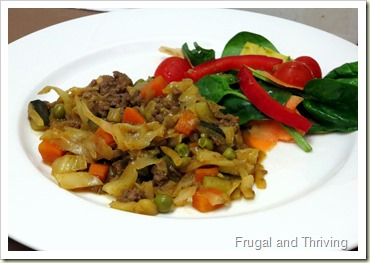 tasty savoury mince recipe