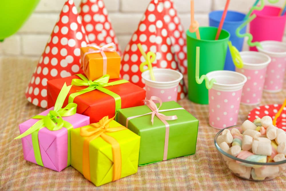 frugal kid's birthday party gift ideas