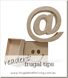 may mailbag– SAVE ON GROCERIES, CREATIVE USES FOR PRODUCTS AND FRUGAL BLOGS