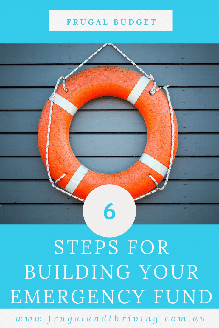 Building an emergency fund gives you financial peace of mind when life throws you a curveball. Here are the steps for building one. #personalfinance #emergencyfund