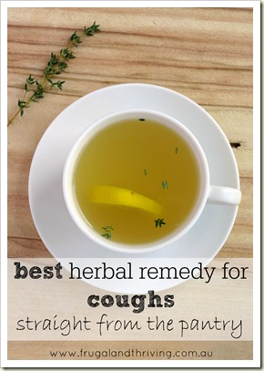 the best remedy for coughs–and it comes straight from the pantry