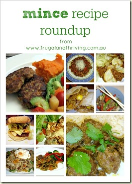 mince recipe roundup from the blog