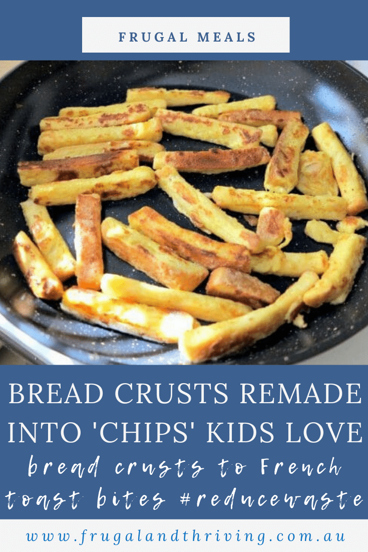 French Toast 'Chips' – A Novel Way to Use Bread Crusts