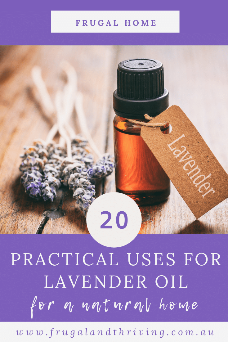 20 Practical Uses for Lavender Essential Oil in the Home
