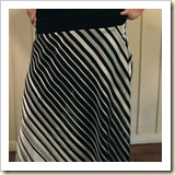 Bias cut skirt from Instructables | Frugal and Thriving