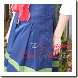 Box pleat skirt from Made by Me and Shared with You | Frugal and Thriving